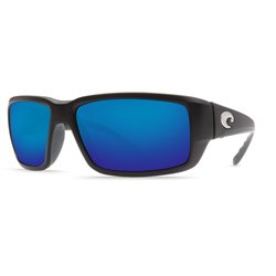 FANTAIL - MATTE BLACK Blue Mirror 580P (TF 11 OBMP)